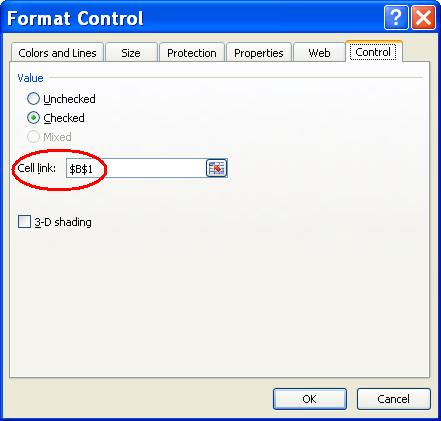 format control