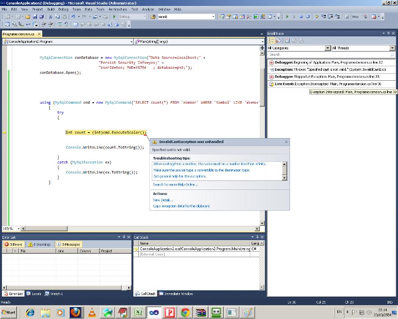code error