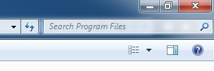 Windows Explorer search
