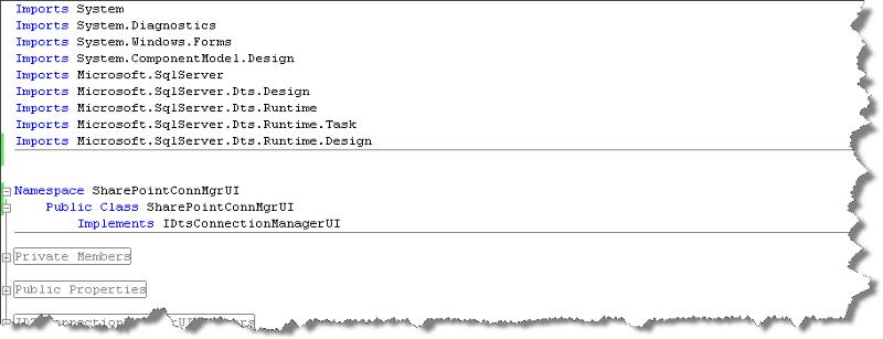 UI Class Namespace