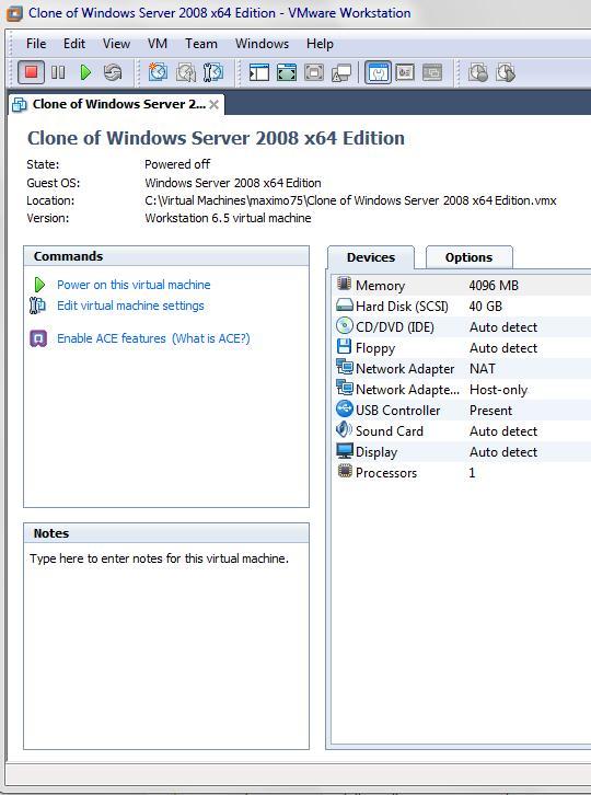 Windows VM | Workstation Pro | VMware | NO