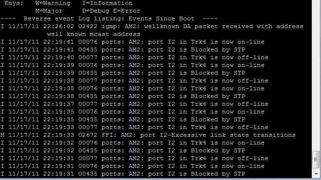 HP cli to disable spanning tree on a port