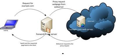 Forward proxy Arch