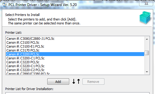 C3200 PCL5C DRIVER DOWNLOAD
