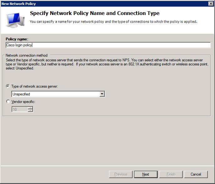 Network policy