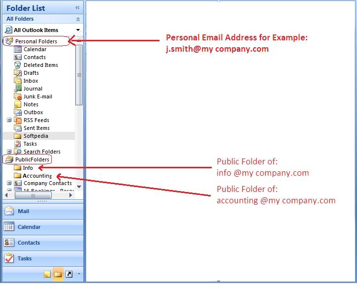 Public Folders Example