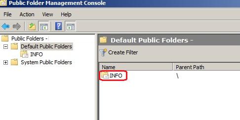 Public Folder Management Console