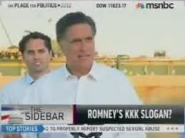 KKK Romney