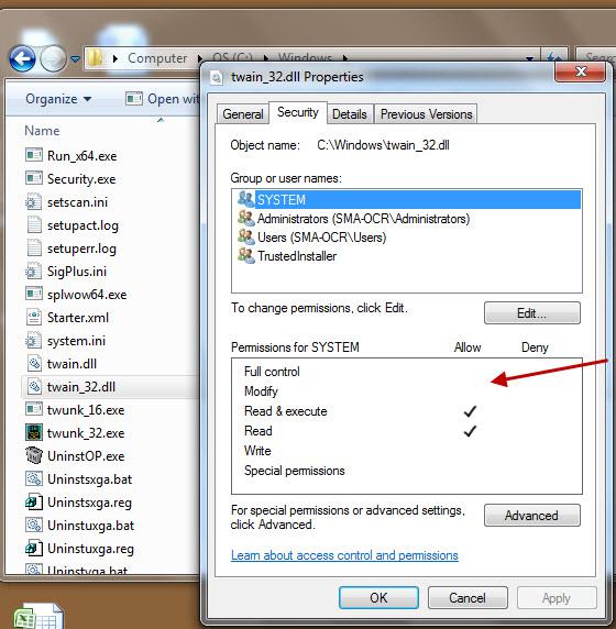 File properties