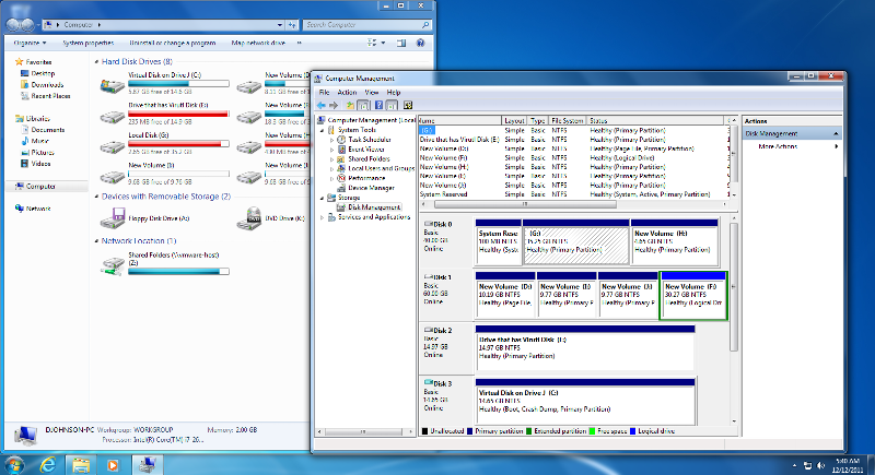 As expected, it works.. This is NOT Windows XP Baby!