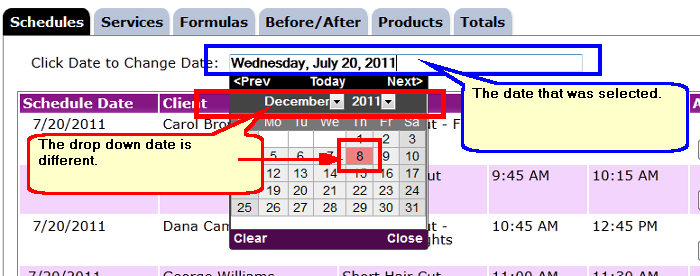 JQuery Set Datepicker date from input value