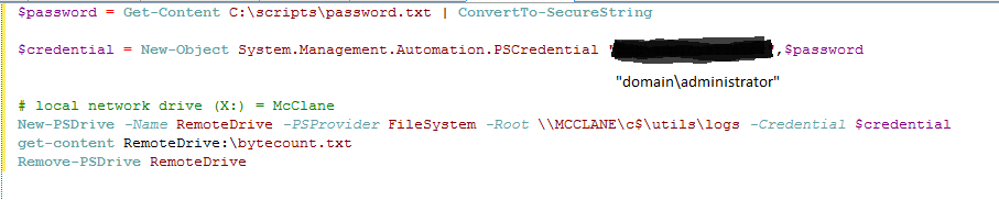 powershell grep to query txt files on remote hosts