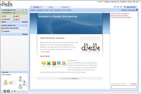 dimdim-web-meeting