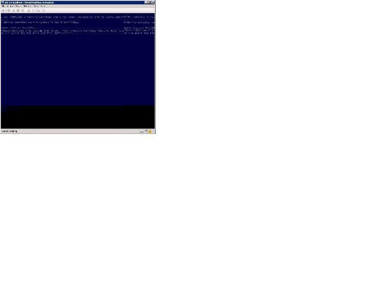 screenshot of BSOD
