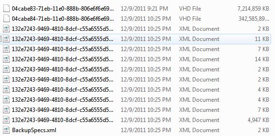 VHD files