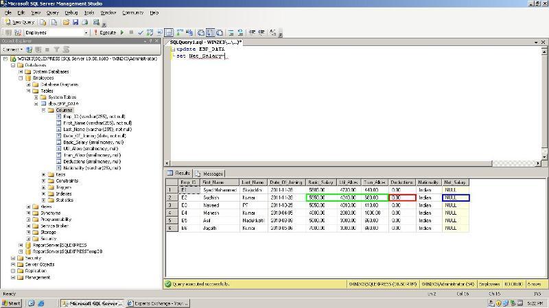 SQL Rows