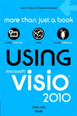 Using Visio 2010 book cover