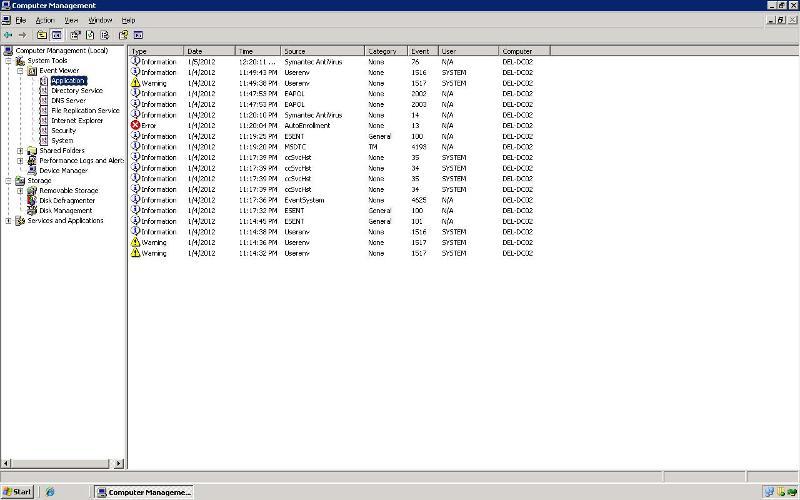 Server error 3
