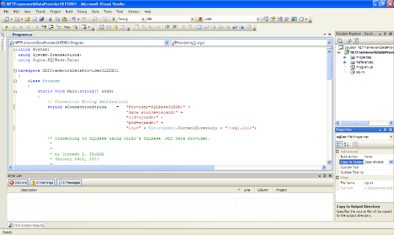 C# .NET Source Code