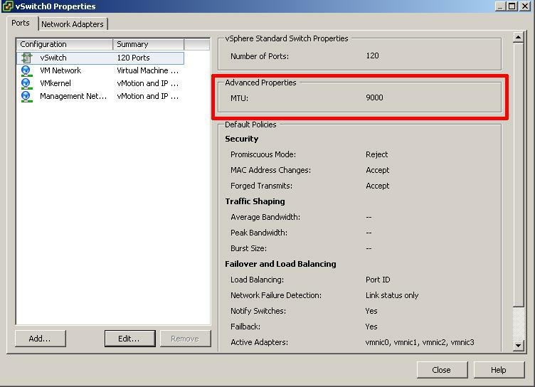 HOW TO: Enable Jumbo Frames on a VMware vSphere Hypervisor (ESXi 5.0 ...
