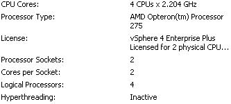 AMD Opteron 275 in DL385 G1