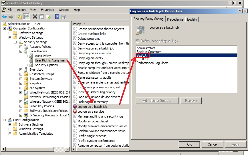 SOLUTION] Remove unresolved accounts from group policy
