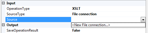 You can create a new File Connection through the XML Task Editor