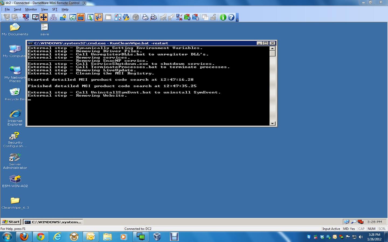 symantec client security cleanwipe utility