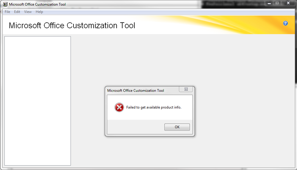 Office 2010 professional customization tool error - Office customization tool ...