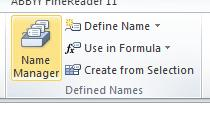 Name Manager Button