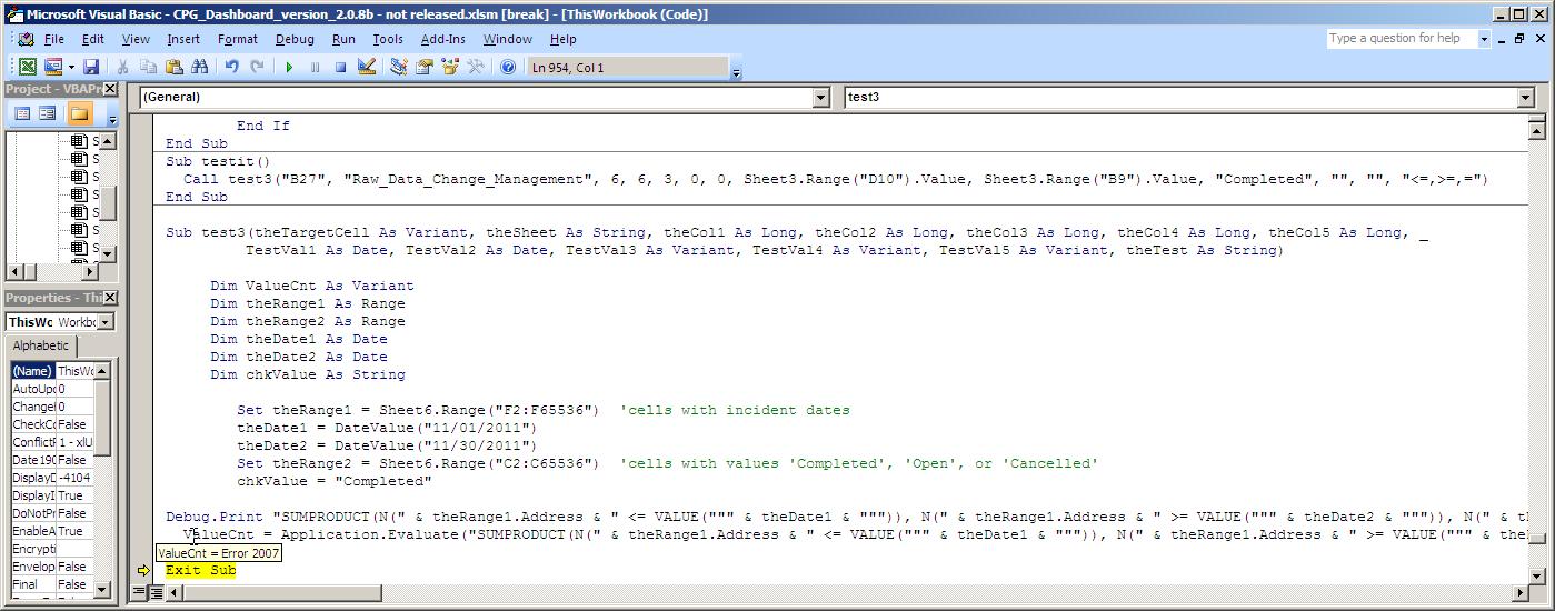 Excell 2007 vba worksheetfunctionmproduct error message excel vba error 2007g ibookread Download