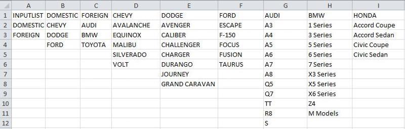 Add Model Names