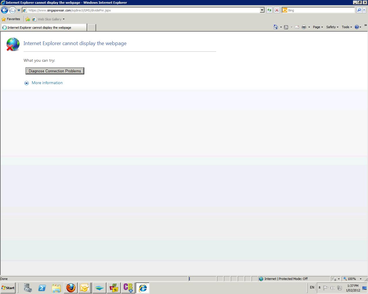 internet explorer time outsKb181050 #12