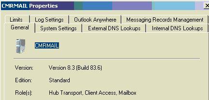 Gal not updating exchange 2007