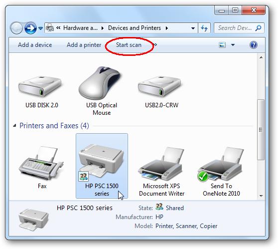 HP CM3530fs - Scanner installation