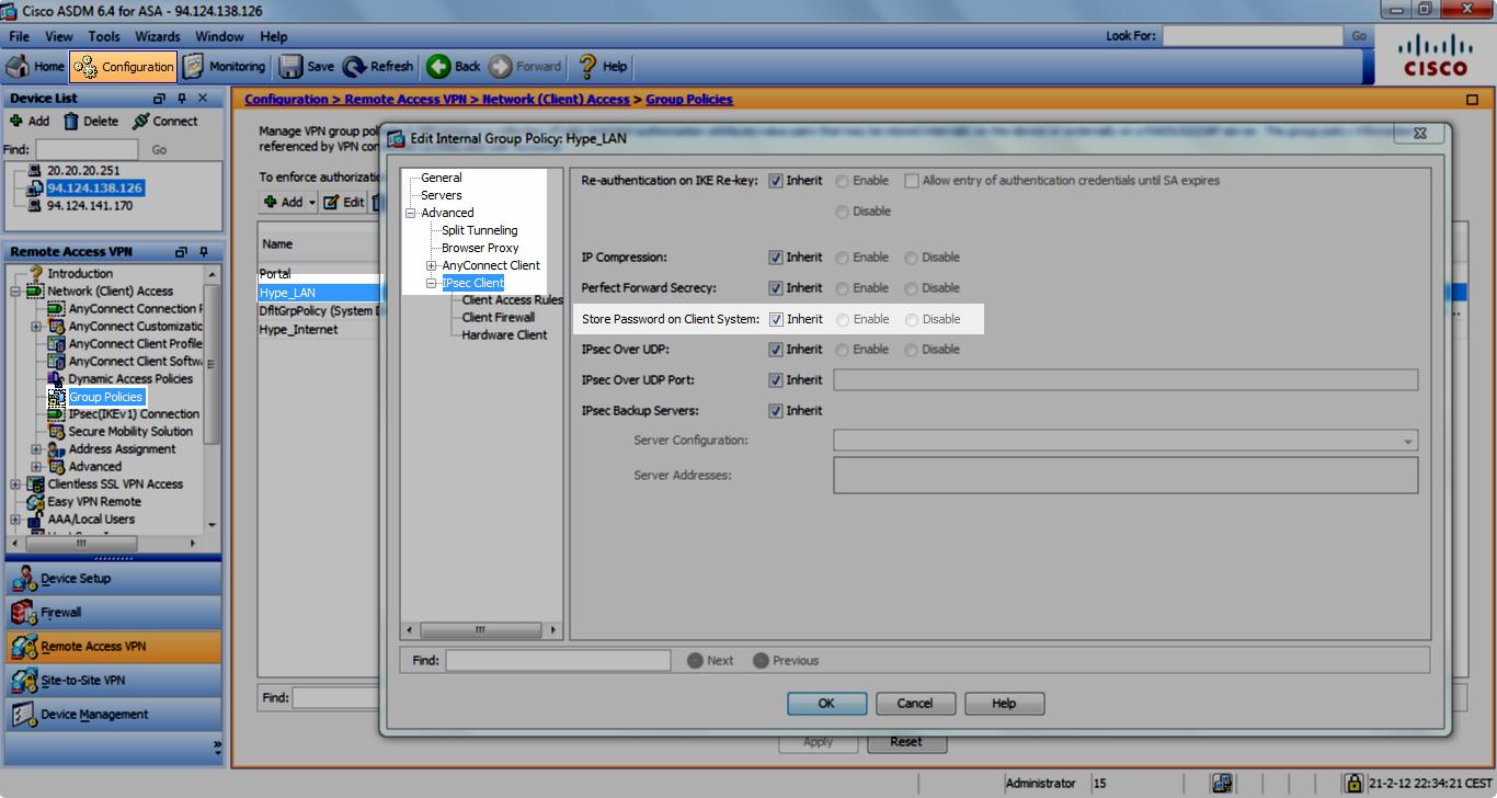 Connect Ipad to ASA via Ipsec vpn and Certificate
