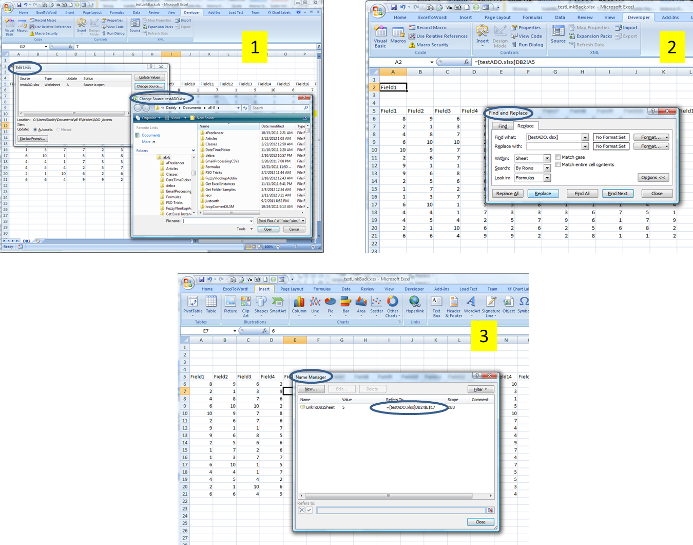 Workbooks copy formulas between workbooks : Workbook link problems after copying tabs to a new workbook?