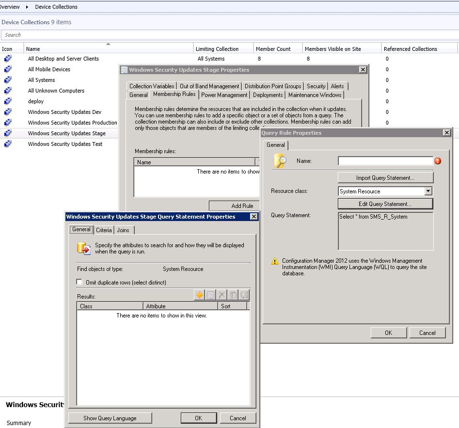 SCCM 2010 Collection Query using registry entry