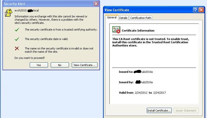 Ssl Certificates With Exchange 2010 Cas Array