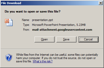 I cannot open Powerpoint documents through internet explorer