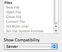 Show script step compatibility