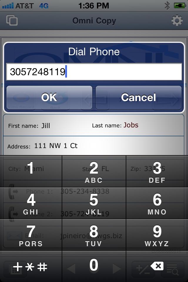 dail phone