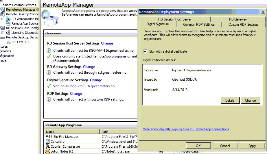 Ausgezeichnet Rdp Ssl Certificate Zeitgenössisch - Zertifikat Design ...