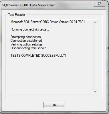 Succeeding test