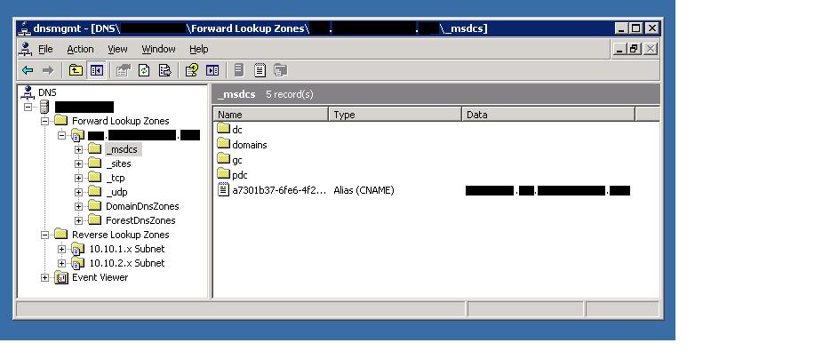 Install windows server 2003 operating system.