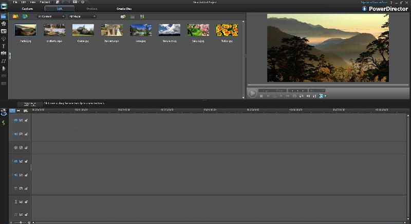 Cyberlink Power Director 10 video editor