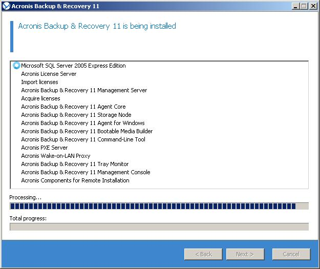 Installation does not progress, other prograns is the same error.