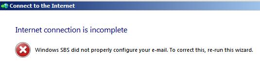 mail error