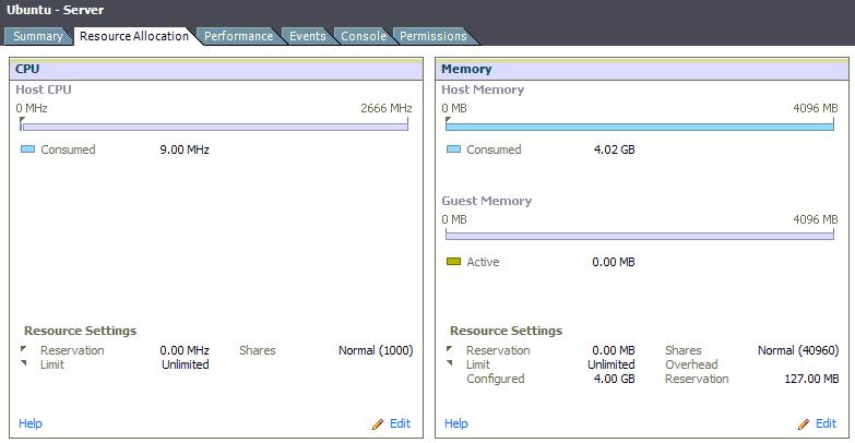 4 GB Server