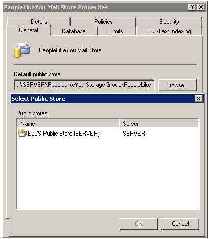 System Manager GUI Fails to Reveal Additional Public Stores